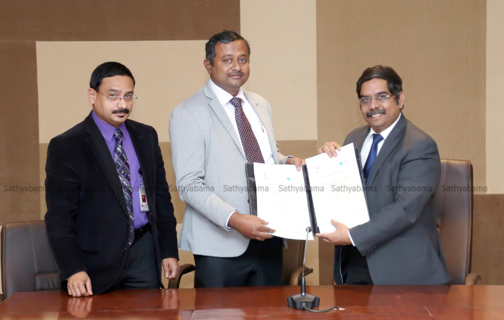 MoU with Sathyabama